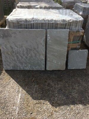 Grey Indian Sandstone Paving Slabs (Patio Pack) CLEARANCE PRICE