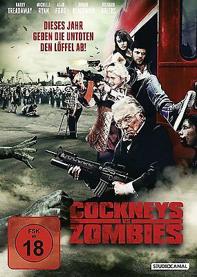 Cockneys vs Zombies (DVD, 2013) NEU + OVP, FSK 18