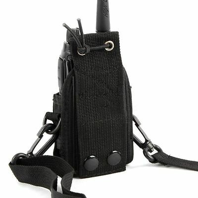MSC-20D Nylon Bag Pouch Holster Case For Baofeng Motorola Kenwood Radio