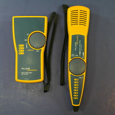 Fluke IntelliTone Pro 200 Toner and 200 Probe, Very Good Condition!