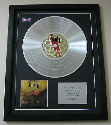 BREED 77 In My Blood CD / PLATINUM LP DISC Presentation