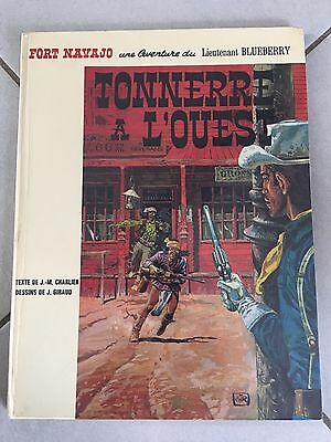 """BLUEBERRY T2 """" TONNERRE A L'OUEST """" EO  TTBE Charlier Giraud RARE"""