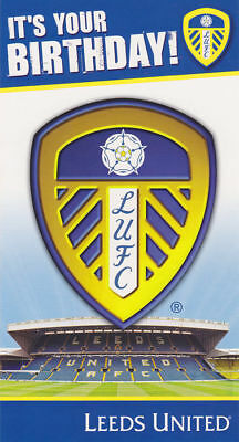 OFFICIAL LEEDS UNITED FC. Birthday Card