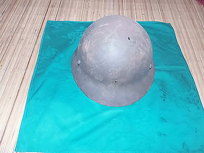 Original Ww2 Imperial Japanese Helmet-/lining/strap/place Name
