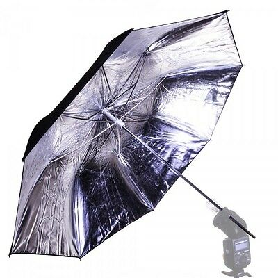 Interfit Strobies Pro-Flash Silver/Black Umbrella STR213