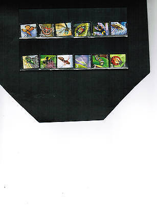Canada  12  RECENT INSECT STAMPS** see scan LOT 451A