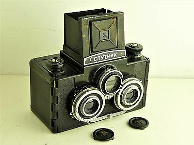 Lomo Sputnik Soviet Medium Format Stereo Camera. UK SALE.