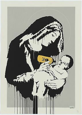Banksy Save or Delete Ed.300 Printed Signature Ed.number pencil France
