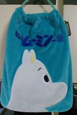MOOMIN VALLEY Moomin Nylon Drawstring Bag