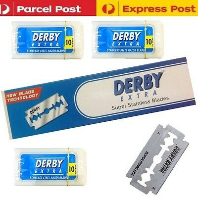 50 x Derby Extra Super Sharp Double Edge Stainless Steel Safety Razor Blades
