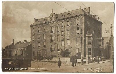 CLIFTON Bristol, WAAC Headquarters, Dudley Hose, RP Postcard Postally Used 1918