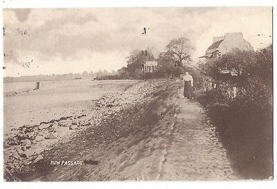 NEW PASSAGE Gloucestershire, RP Postcard Postally Used 1913