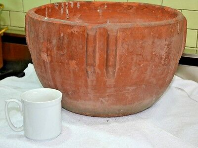 "Large Bauer Pottery Indian Bowl Pot Planter 15.5"" W X10""T"