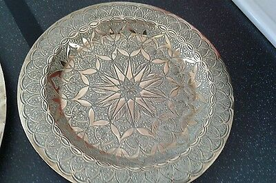 Lovely Indian Brass Plate