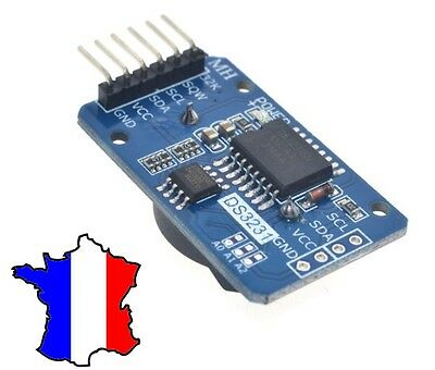 module RTC DS3231 AT24C32 DS1307 Horloge temps réel Arduino Pi real time clock