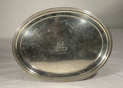 Charleston Southern Sterling Silver Grosjean & Woodward Hayden Whilden Platter