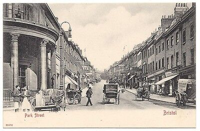 BRISTOL Park Street, Old Postcard by Stengel, Unused