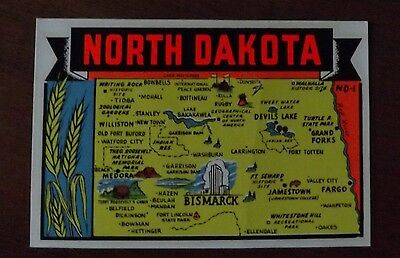 North Dakota. Lindgren - Turner Decal in Original Packaging