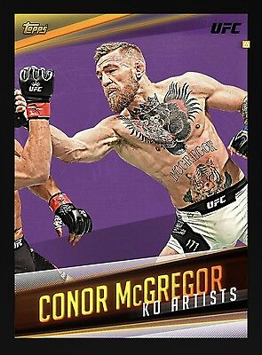 Conor McGregor KO Artist Award Topps UFC Knockout Digital