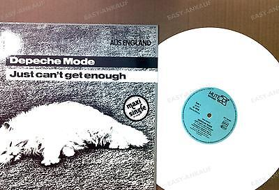 Depeche Mode - Just Can't Get Enough GER Maxi 1987 White Vinyl Top! //3