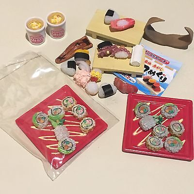 Rement Sushi Lot Miniature Dollhouse 1:6 Youth Day Dreamy American Life