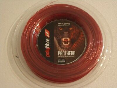 Polyfibre Panthera 120m Reel 1.25mm Tennis String