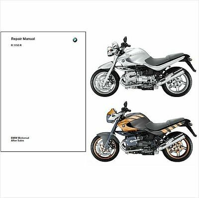 2001-2006 BMW R1150R Service Repair Manual CD --  Multilingual --- Rockster