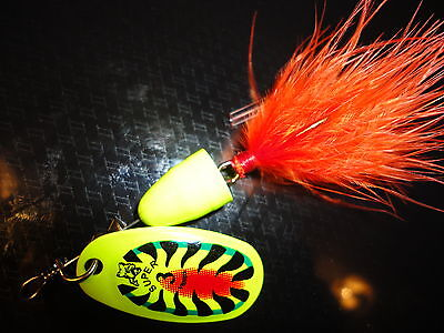SUPER X-3: Rapala / Vibrax X Spin - vibrating lure for pike trout perch bass etc