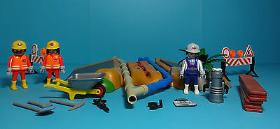 Playmobil Baustelle ~ Superset Bau / SuperSet Construction (3126) & Anleitung