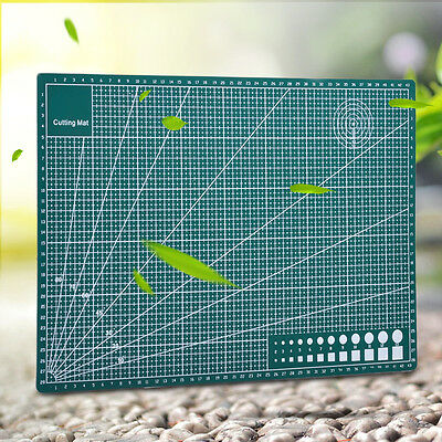 A3 Cutting Mat Self Healing Non Slip Craft Printed Grid Lines Board Double Sided