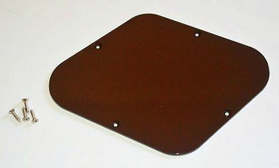 Vintage Original 1970's Gibson Les Paul Brown Back Plate Control Cavity Plate