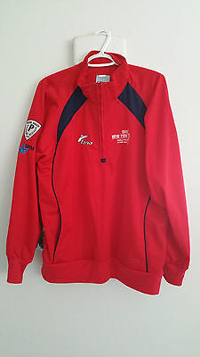 2011 New York NY World Police & Fire Games Montreal SPVM Shirt Size Large