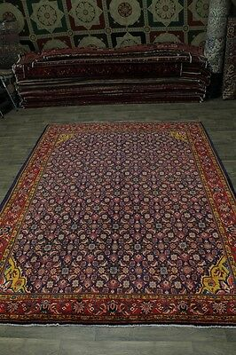 Stunning Allover Handmade S Antique Mahal Persian Rug Oriental Area Carpet 10X13