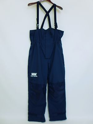 SS209 Men Helly Hansen Sailing Yachting Waterproof Salopettes Trousers Size XL