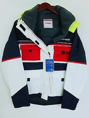 SS215 Women Brandsdal Of Norway Sailing Yachting Waterproof Jacket Size XL UK16