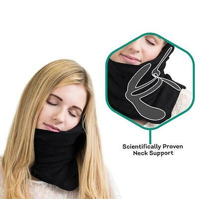 Neck Travel Soft  Pillow Black Journey Gift Proven Super Support Travel Pillow