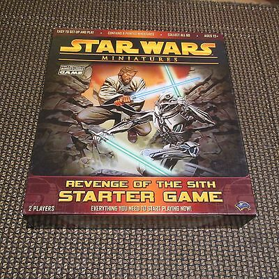 STAR WARS MINIATURES REVENGE of the SITH STARTER GAME 40 FIGURES
