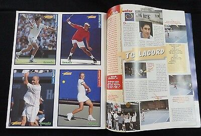 2001 Tennis Plus Magazine Hors Serie W/ Roger Federer Rookie Card Super Rare RC!