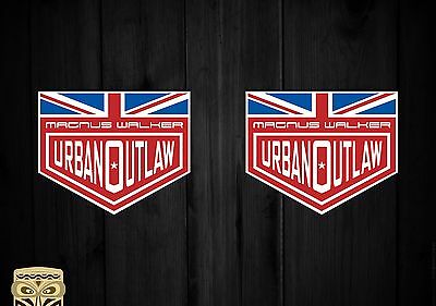 Pegatina Decal Sticker Autocollant Adesivi Aufkleber  Magnus Walker Urban Outlaw