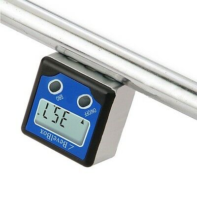 BB-180 360 Degree Digital Mini Bevel Box Angle Gauge Meter Protractor Magnets B
