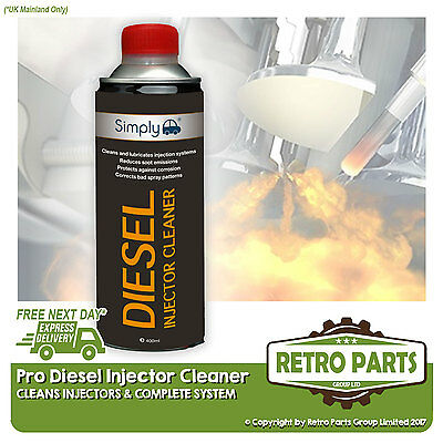 Diesel Fuel Injector & System Cleaner for Nissan X-Trail. Stop Black Smoke