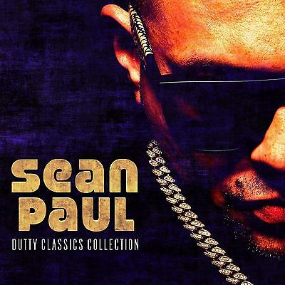 SEAN PAUL DUTTY CLASSICS COLLECTION CD (New Release June 2017)