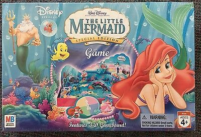 Disney The Little Mermaid Special Edition Board Game Milton Bradley New Sealed