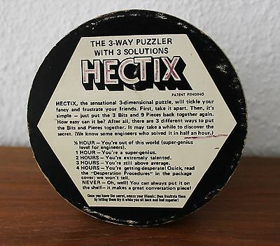 ✿✿✿ Hectix - the 3 way Puzzler 1970 Vintage - Spielzeug - Toy  ✿✿✿