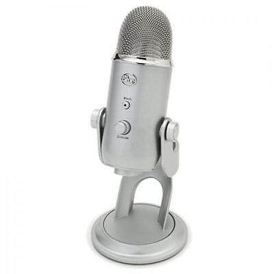 BLUE Yeti Microphone Professional quality, 3-capsule USB mic featuring 4 polarpa