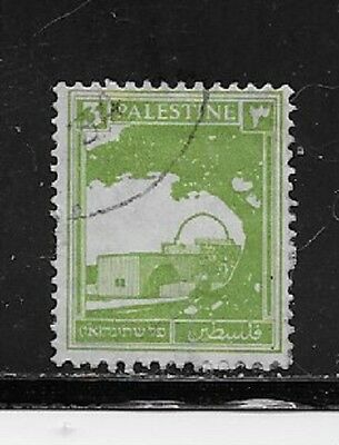 Palestine Stamps- Scott # 64/A3-3m-Canc/LH-1927-42-NG