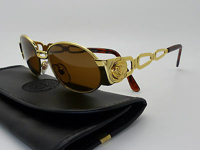 Versace Gianni Sunglasses Mod S34 Col 030 Vintage Genuine New Old Stock