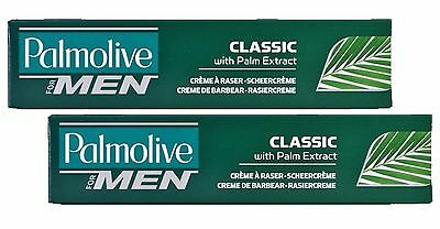 Palmolive Shave Cream Classic 2 x 100ml (3.52oz) - 2 x Palmolive Shaving for Men