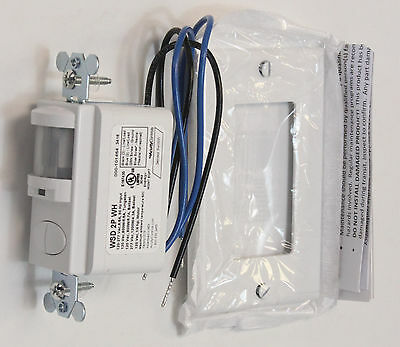 NEW  Sensor Switch WSD 2P WH Control Wall Switch Sensor White