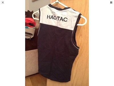 Blue Ladies Hac Tac Sleeve Less Riding Top Size 10